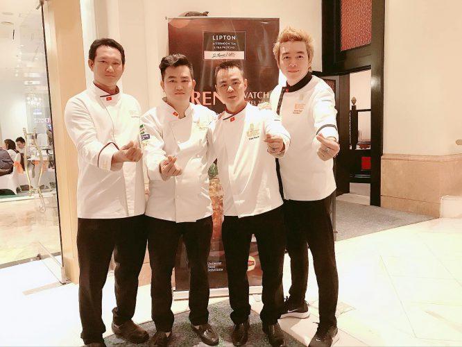 Đội ngũ đầu bếp