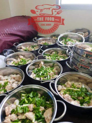 Đặt nấu tiệc tại nhà ngon, đảm bảo vệ sinh và chất lượng