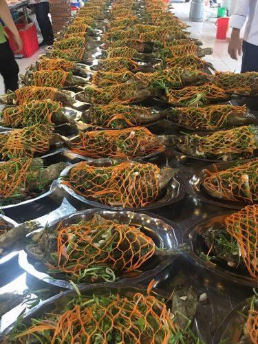 Những món ăn ngon được các đầu bếp tại thefood trình bày cẩn thận và đẹp mắt