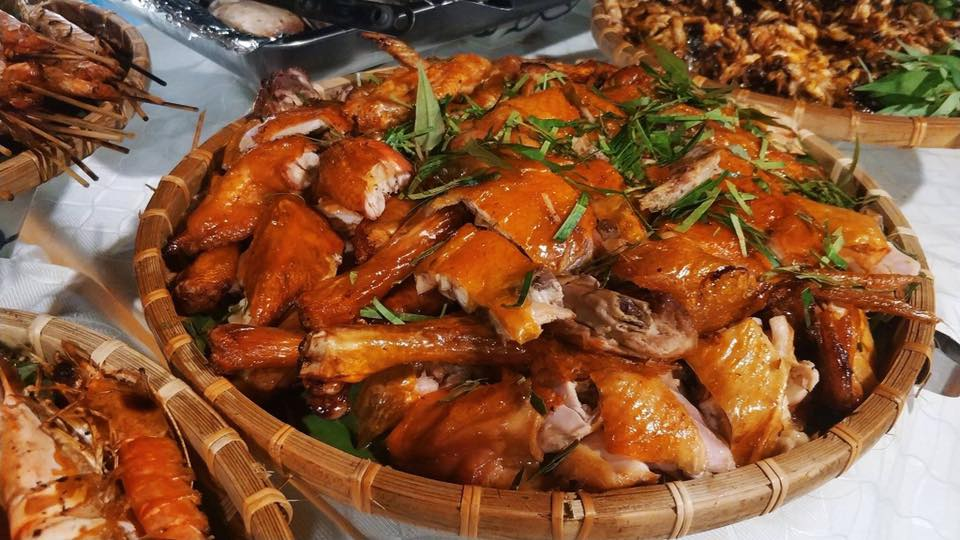 Món ăn ngon là một trong những thế mạnh của dịch vụ nấu tiệc tại nhà