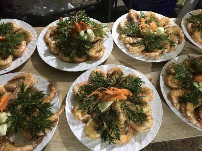 Món ăn ngon là một phần quan trọng để cho dịch vụ đặt tiệc tất niên được diễn ra thành công tốt đẹp.